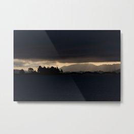 Dunedin Silhouette  Metal Print