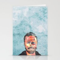 jesse pinkman Stationery Cards featuring Pinkman by Miguel Velez