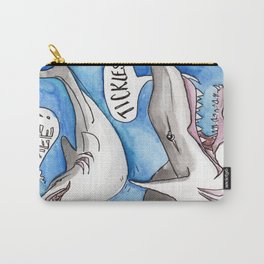 Shark Tickles Carry-All Pouch