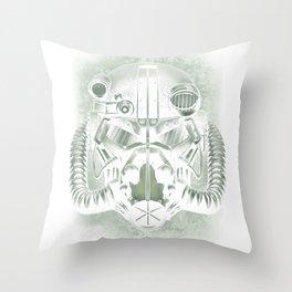 War never changes Throw Pillow