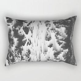 As the Rush Comes Rectangular Pillow