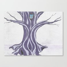 Owl in the Tree Canvas Print