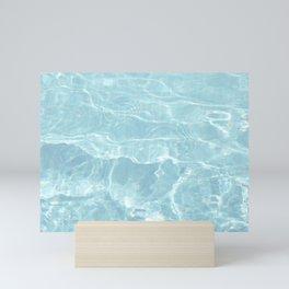 Pool Water in the Clear Mini Art Print