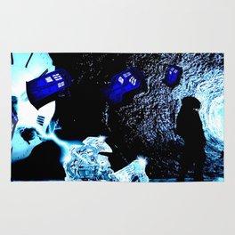 TARDIS BLUE Rug