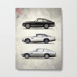 The DB Collection Metal Print