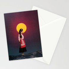 GOLDEN MOON Stationery Cards
