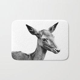 Deer portrait Bath Mat