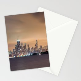 Chicago from Montrose Harbor Stationery Cards