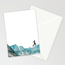 walking high Stationery Cards