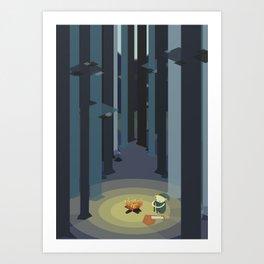 Kentucky Route Zelda - Lost Woods Art Print