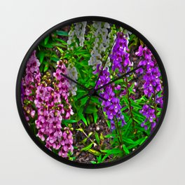Spring Spring Wall Clock
