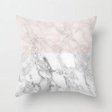 Marble wordl Throw Pillow