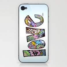 love is all you need. (color) iPhone & iPod Skin