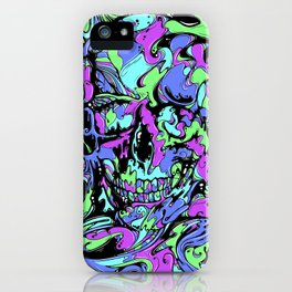 SKULL (Colorway A) iPhone Case