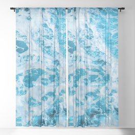 Summer Never Ends Sheer Curtain