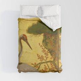16th Century Japanese Birds & Flowers Comforters