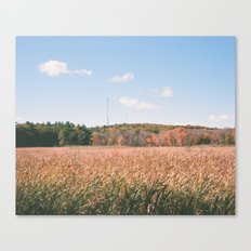 the harvest has ended Canvas Print