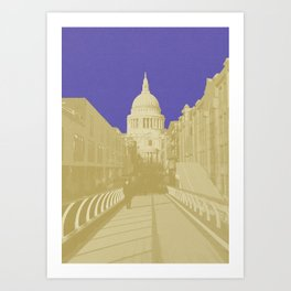 Blueberry Saint Art Print