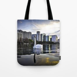 Lake Eola - Orlando, FL Tote Bag