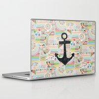 anchor Laptop & iPad Skins featuring Anchor by Berreca