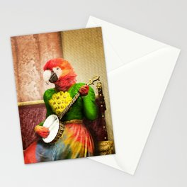 Banjo Birdy Plucks a Pretty Tune! Stationery Cards