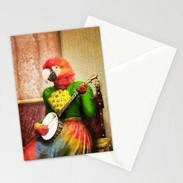 Banjo Birdy Plucks a Pretty Tune! Stationery Cards