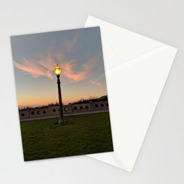 San Pedro Lightpost Stationery Cards
