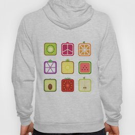 Squared Fruits Hoody