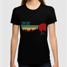 Lockport Retro Vintage Custom Funny 80s 90s T-shirt