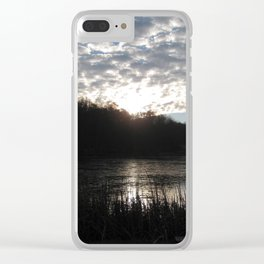 Nature's Finale Clear iPhone Case