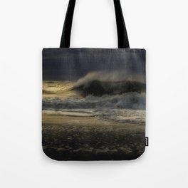 Moody day at Long Beach Island Tote Bag