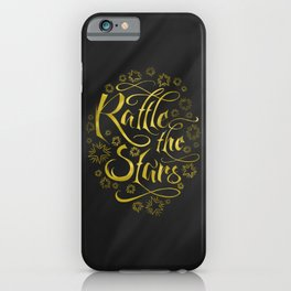 Rattle the Stars (Black) iPhone Case