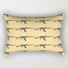 ak47 pattern logo Rectangular Pillow