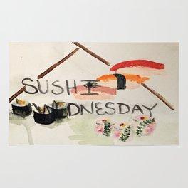 Sushi Wednesday  Rug