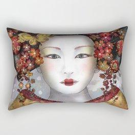 Becoming a Geisha  Rectangular Pillow