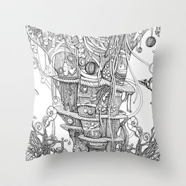IMAGINATION (pillow, tote bags) Throw Pillow
