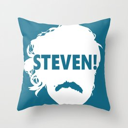 STEVEN! Throw Pillow