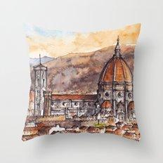 Florence, Italy Throw Pillow