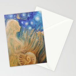 Ancient agricultural goddes Stationery Cards