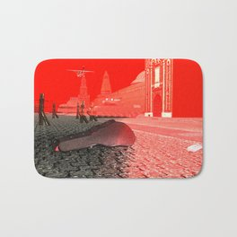 Squared: Shadow Game Bath Mat
