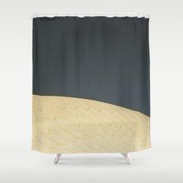 Sydney Opara House Roof Shower Curtain