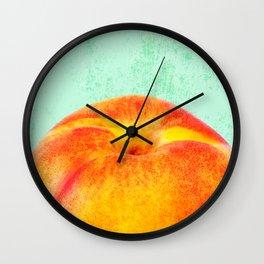 A Peach Wall Clock