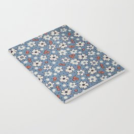Floral Fabric Notebook