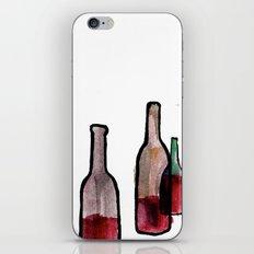 Wine Bottles 1 iPhone & iPod Skin