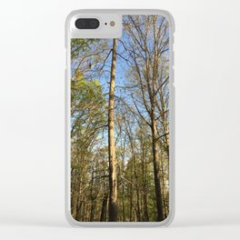 Tennessee Woods Clear iPhone Case