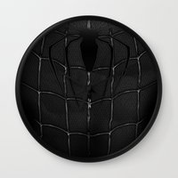 venom Wall Clocks featuring venom by designoMatt