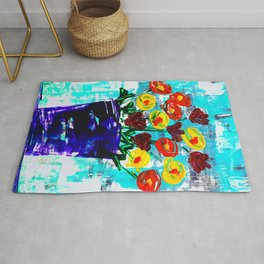 Fanciful Blooms Rug