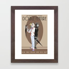 TPoH: Double Feature Framed Art Print
