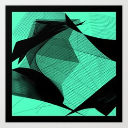Abstractaction Art Print