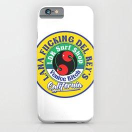 LDR Surf Shop Venice Bitch iPhone Case